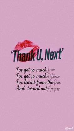 Ariana Grande - Thank U Next Next Wallpaper, Pretty Phone Wallpaper, Pretty Wallpapers, Wallpaper Quotes, Ariana Grande Quotes, Ariana Grande Lyrics, Song Quotes, True Quotes, Great Song Lyrics