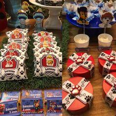 Aniversário - Patrulha Canina Parceiros: - lollipopfestasbh (mobiliáhjdjxbdb- dhxvxjdksb[©´§´§Гμ₹©´§´§ГГ§ГГ§´´§´´§´§´§´§´´μ·][¥[[§Гμ₹₹ Sons Birthday, 2nd Birthday Parties, Baby Birthday, Paw Patrol Party, Paw Patrol Birthday, Cumple Paw Patrol, Boss Baby, Birthday Decorations, Party Planning