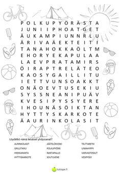 Joko, Word Search, Classroom, Teaching, Education, Words, Craft Ideas, Class Room, Onderwijs