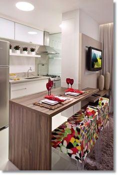 Gostaria de ter uma #cozinha desta no seu Apartamento? #avidapede www.souzaafonso.com