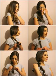 The perfect festival hair tutorial! Flower ponytails are so much better than Flower crowns. #hair #diy #tutorial