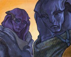 STRIX567 Mass Effect Games, Mass Effect Art, Jaal Mass Effect, Commander Shepard, Alien Concept Art, Alien Creatures, Dragon Age, Science Fiction, Video Games