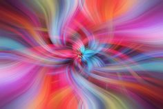 Mystery of Colors by Jenny Rainbow.Rainbow colored abstract patterns with main vibrant color theme of purple and pink.Mystery of Col. Wall Prints, Fine Art Prints, Colorful Abstract Art, Color Themes, Abstract Pattern, Colorful Interiors, Home Art, Color Mixing, Vibrant Colors