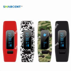 >> Click to Buy << SMARCENT Bluetooth 4.0 Health Smart Band Watch with OLED Screen Sleep Monitor Wristband Bracelet Fitness Tracker pk mi band 2 #Affiliate