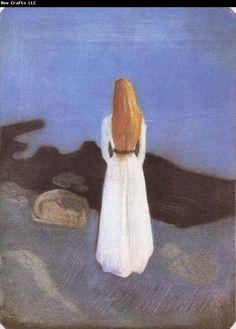 Edvard Munch The Girl