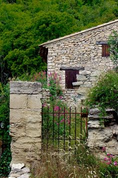 Provence France  Gated Stone House Old Farmhouse by Photographyljr, $25.00