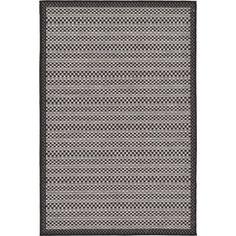 "Trent Austin Design Dakota Gray Outdoor Area Rug Rug Size: 3'3"" x 5'"