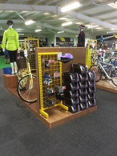 Go Outdoors Milton Keynes Cycling Fixtures Fittings Lifestyle Visual Merchandising