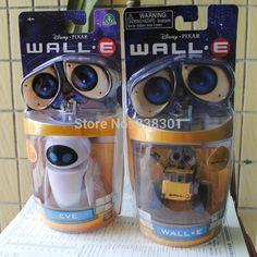 Grátis frete nova marca eua Pixar animados Action Figure Toys Rabot parede E & EVE PVC Action Figure Toy modelo For Kids em Ação e personagens de Brinquedos & Lazer no AliExpress.com   Alibaba Group