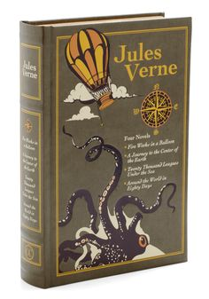 Early science fiction/adventure. Creative, clean, and perhaps a bit challenging (reading level and vocabulary). These work very well as audio books. Collected Works of Jules Verne
