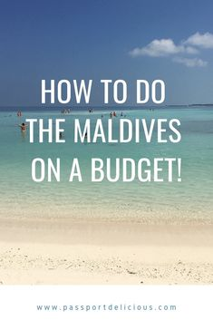 Have you always wanted to visit The Maldives? Here's how to do a Maldives vacation on a budget! Cheap accommodation, cheap food, cheap day drips, budget travel and more! Maldives Budget, Maldives Vacation, Italy Vacation, Vacation Trips, Us Travel Destinations, Places To Travel, Romantic Vacations, Travel Goals, Asia Travel