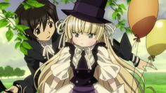 Victorique x Kujo from Gosick