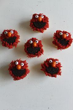 Traktatie Elmo voor onze3 jarige zoon
