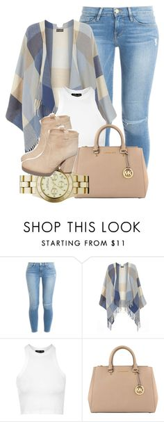 """if you love me let me go"" by leahmonee ❤ liked on Polyvore featuring moda, Frame Denim, Dorothy Perkins, Topshop, MICHAEL Michael Kors, Laurence Dacade y Marc by Marc Jacobs"