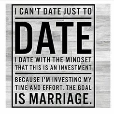 Date with a purpose...
