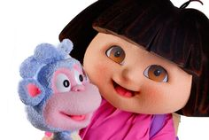 Meet Nickelodeon's Dora the Explorer this weekend! She'll be on Fountain Square from 2-6pm Saturday and Sunday!
