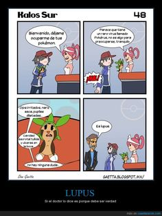 Mi Pokémon está enfermito... - Si el doctor lo dice es porque debe ser verdad   Gracias a http://www.cuantarazon.com/   Si quieres leer la noticia completa visita: http://www.estoy-aburrido.com/mi-pokemon-esta-enfermito-si-el-doctor-lo-dice-es-porque-debe-ser-verdad/