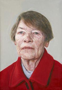 Edward Sutcliffe (UK: 1978) - Portrait of Glenda Jackson (British Labour Party politician and former actress)