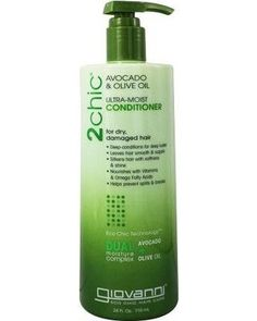 Giovanni Hair Care Products Conditioner - 2chic Avocado And Olive Oil - 24 Fl Oz. #Healthy products for healthy hair! All products at True Club are #non-GMO, #cruelty-free, and up to 50% off suggested retail price. We also rate each product's ingredients so you know at-a-glance how safe it is for you.