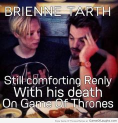 Renly Baratheon is still sad