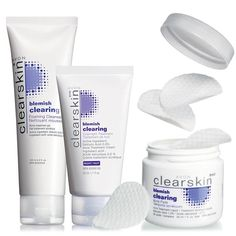 #Clearskin Blemish Clearing Collection on sale at www.deanansbeautyshop.com. Clears up #acne and prevents new blemishes for clear skin.