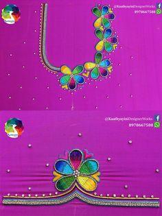 Cutwork Blouse Designs, Simple Blouse Designs, Saree Blouse Neck Designs, Stylish Blouse Design, Bridal Blouse Designs, Peacock Embroidery Designs, Hand Work Blouse Design, Maggam Work Designs, Designer Blouse Patterns