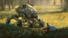 """""""W.A.R.P. Industries Exploration Rover"""" by #JakubBazyluk.  #sciencefiction #scifi"""
