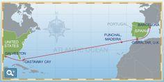 Disney Cruise Line transatlantic cruise!