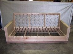 Building Furniture, Couch Furniture, Diy Furniture Projects, Custom Furniture, Furniture Makeover, Furniture Design, Furniture Making, Corner Sofa Design, Chair Design Wooden