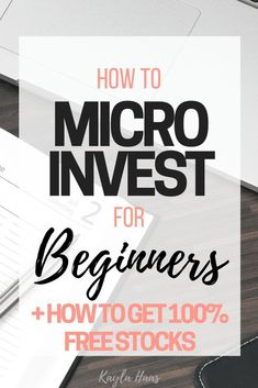 How to Start Investing for Beginners with Little Money! Micro-investing tutorial… – Finance tips, saving money, budgeting planner Investing In Stocks, Investing Money, Stock Investing, Money Tips, Money Saving Tips, Money Budget, Managing Money, Money Hacks, Money Plan
