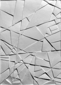 Creative Pattern, Texture, Gypsum, Relief, and Monguz image ideas & inspiration on Designspiration Textures Patterns, Color Patterns, Stoff Design, Deco Originale, White Texture, Texture Design, Surface Pattern, Wall Design, Paper Art