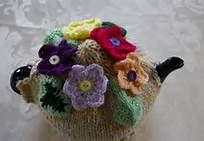 button flowers tea cosy - Bing Images