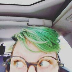 My green hair