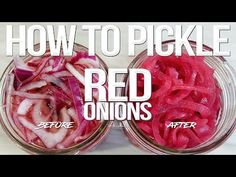 A super simple recipe for Pickled Red Onions The post Simple Pickled Red Onions appeared first on Going My Wayz. Easy Food To Make, How To Make Homemade, Gordon Ramsay Home Cooking, Taco Restaurant, Kitchen Must Haves, Homemade Pickles, Pickled Red Onions, Love Food, Cooking Recipes