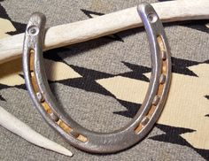 FOR SALE in Lone Raven Ranch eBay shop - please follow link.. http://www.ebay.com/usr/loneravenranch (subject to prior sale) Free Ship Lucky Genuine Horseshoe Ready2Hang Cowgirl Cowboy USA Ranch Cabin A