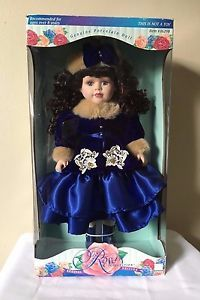 Melissa Jane Victorian Rose Collection Special Edition Genuine Porcelain Doll   eBay