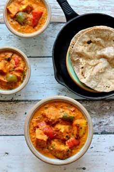 Paneer tikka masala - Soft, succulent cottage cheese cubes simmered in rich n creamy tomato gravy