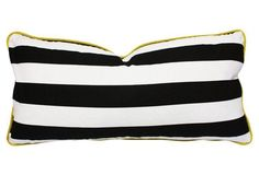 Nothing quite like a classic black & white stripe!