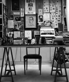 This is YSL  YSL! Lennon! Twain! From The Desks Of The World's Most Creative Minds