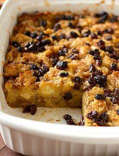 Bourbon Bread Pudding | via Brown Eyed Baker