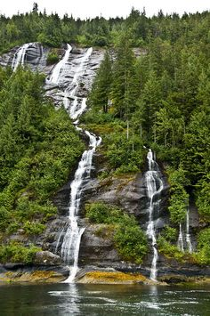 Found Out The Hidden Beauty In Alaska Misty Fjords Waterfalls Alaska Trip, Alaska Travel, Beautiful Places To Travel, Beautiful World, Ketchikan Alaska, Alaska Adventures, Hidden Beauty, Heartstrings, Beautiful Waterfalls