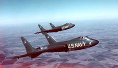 Blue Angels flew F7U Cutlass for a short while.