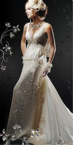 dreamy wedding dress #WeddingSerendipity #Fashion #Wedding #Gown #Dress