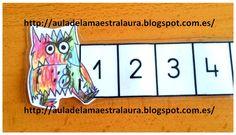 Hoy quiero compartir con vosotros estas divertidas rectas del Monstruo de colores para trabajar la serie numérica hasta el 10 de forma indi...