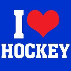 I LOVE HOCKEY T-Shirts #hockey #whistler