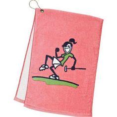 Life is Good Women's Golf Towel Jackie Pump Putt $19.95 - $23.00