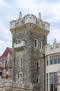 Tower On Casa Loma Castle, Toronto Photograph