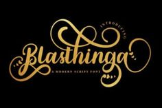 Blasthinga a is a gorgeous and bold handwritten font crafted to give your headlines and logotype projects a stylish touch.... Script Font Style, Modern Script Font, Script Fonts, Typeface Font, Calligraphy Fonts, Wall Design, Logo Design, Photoshop Illustrator, Adobe Photoshop