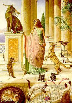 bast goddess pictures | Ponderosa Pagan: Chant to Bast