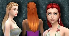 New hair Sims 4 Style.  Available in  default textures, from teen to elder, all colors.  Available   for the   base game.  Please leave a co...